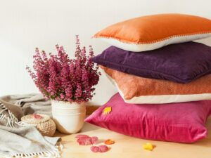 Adding Beauty and Comfort with Pillows and Tapestry Throws