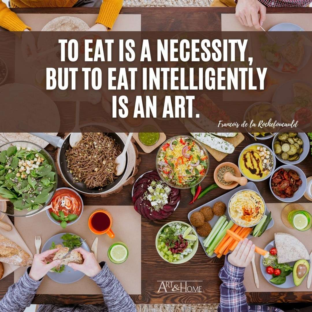 eat intelligently quote