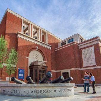 The Museum of the American Revolution Philadelphia, PA.