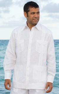 French Cuffs Guayabera shirts
