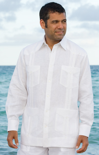 French Cuffs Guayabera shirts