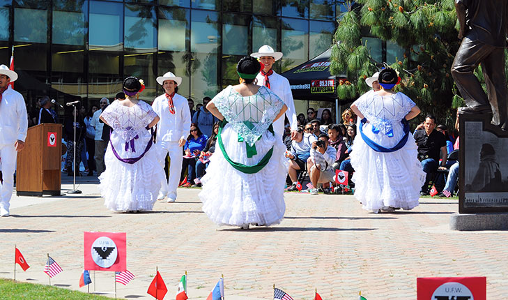 Festivities during the Hispanic Heritage Month: Majority Dances, Skits, Band Performances and other entertaining features portray men proudly wearing their traditional Guayaberas