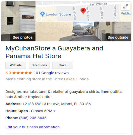 MyCubanStore Customers Reviews