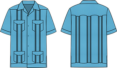 What are guayaberas and where did they originate?