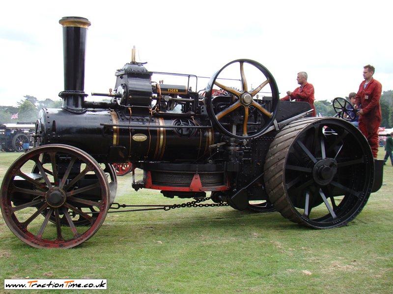 Sugar industry steam tractor