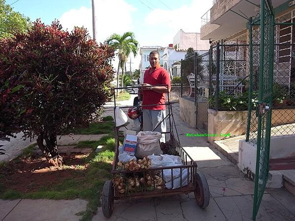 Cuban Street Vendor