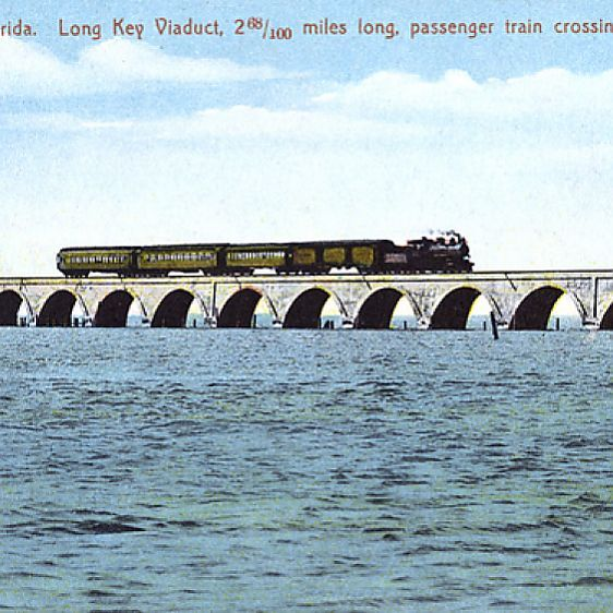 Long Key Viaduct, Long Key, Florida, USA