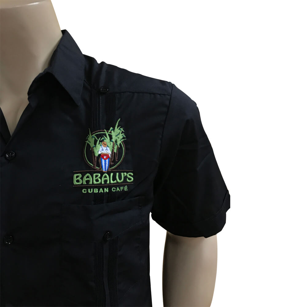 Babalu's Cuban restaurant guayabera shirt
