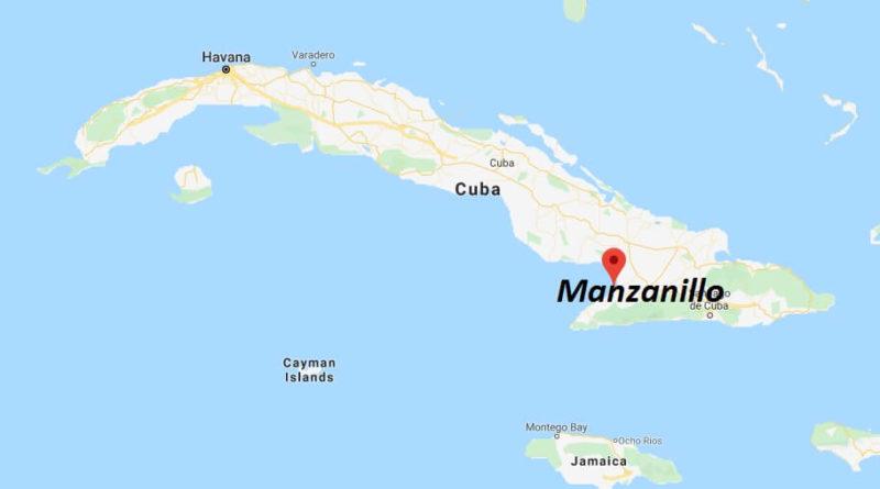 Manazillo Location