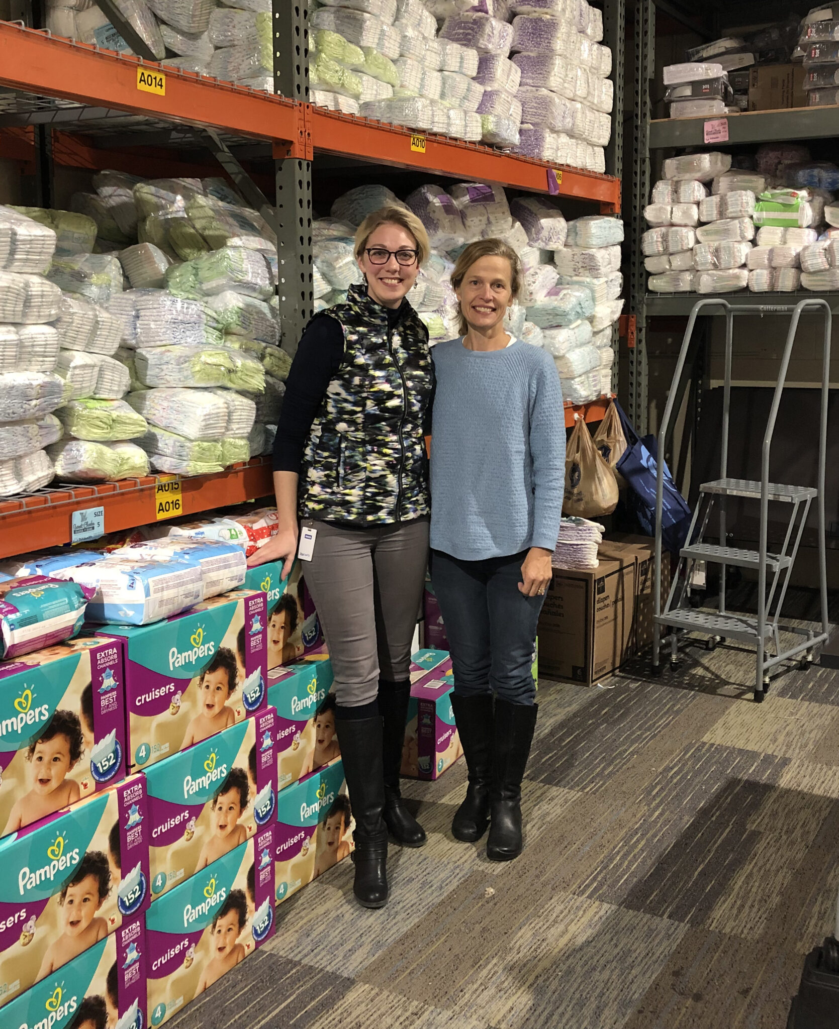 Dohn Celebrates Partnership with Sweet Cheeks Diaper Bank