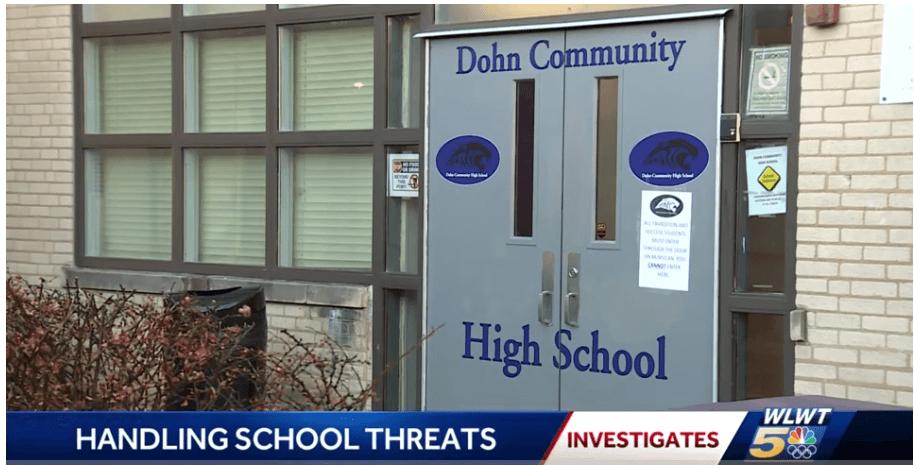 Channel 5 school threats Capture