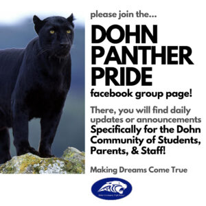 Join Dohn Panther Pride Facebook group page