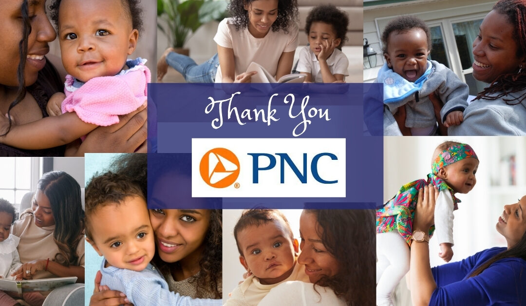 We are Profoundly Grateful for PNC's Generous Investment