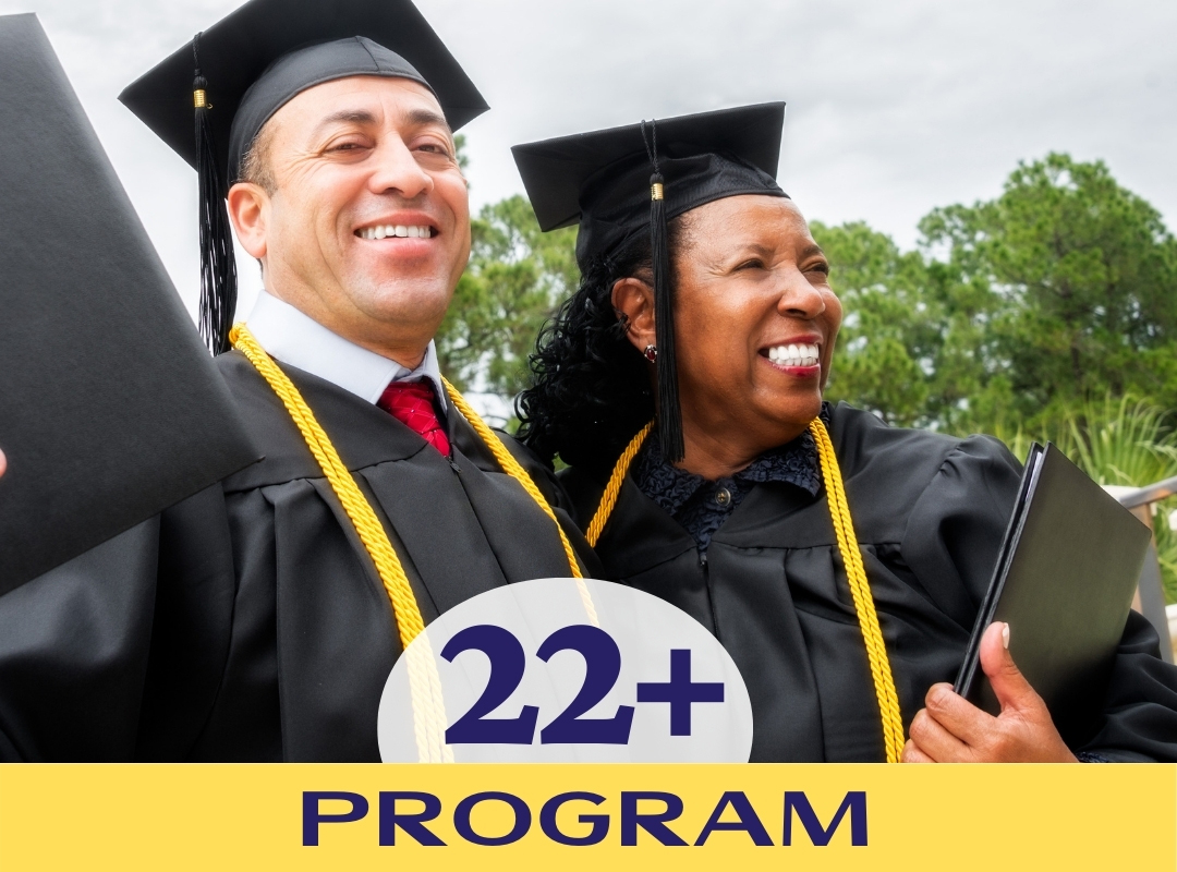 22 plus program for adults