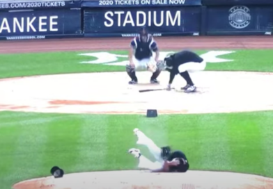 Video: Yankees Pitcher Masahiro Tanaka Was Hit In the Head By A Line Drive From Giancarlo Stanton