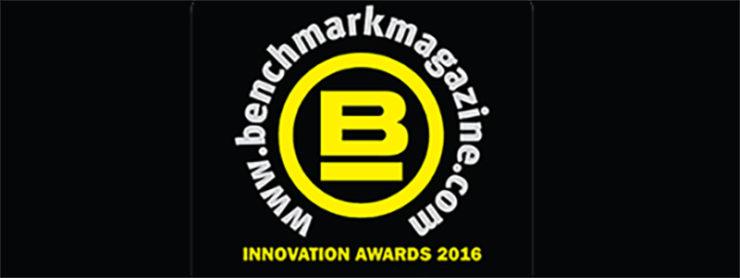 Benchmark 2016 Innovation Award Winner