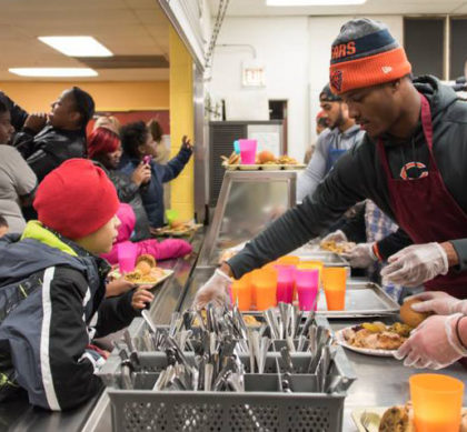 Cornerstone Community Outreach Chicago Bears