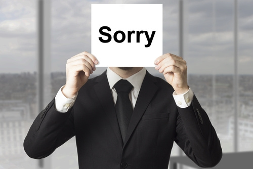 3 Liberating Reasons Leaders Should Not Apologize