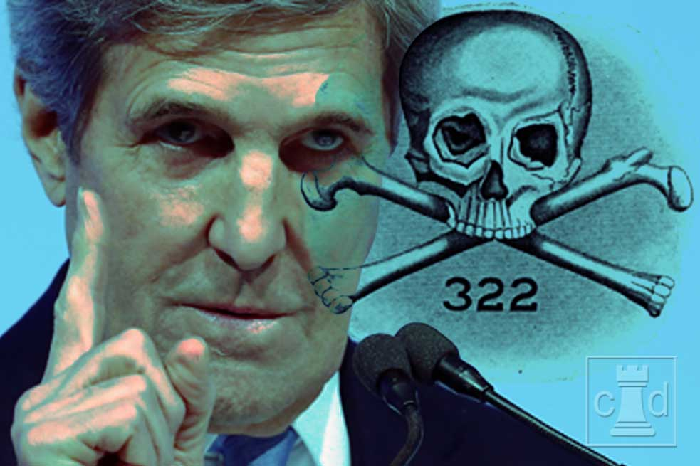 Treasonous Jewish Skull and Bones Death Cult Member John Kerry (Kohn) Says Great Reset is Needed to Destroy America - Camelot Daily