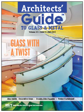 Standard Bent Glass Featured In Architect's Guide TO GLASS & METAL