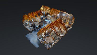 Valle Crucis 3D Model