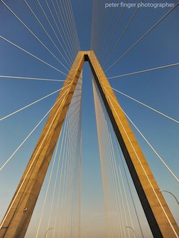 Peter Finger Ravenel Bridge Charleston