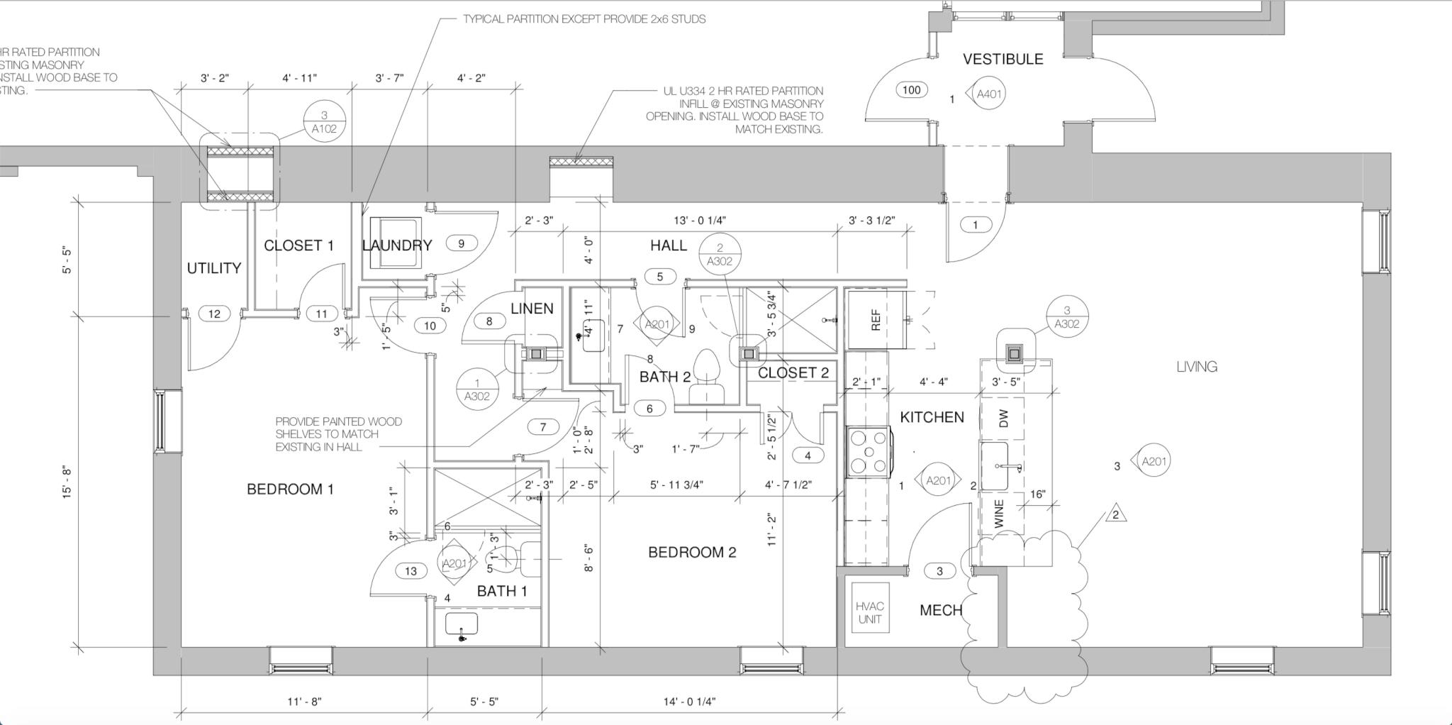 Suite 100 - Floor Plan