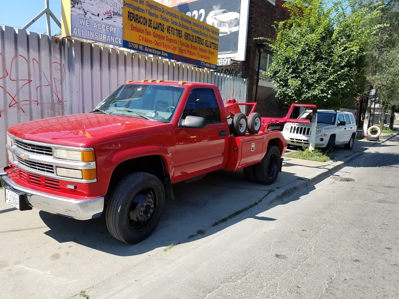 GNG Towing Chevy3500HD