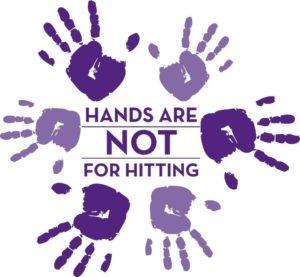 Hand are not for hitting - Fingerprints