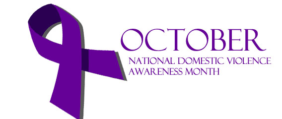October is National Domestice Violence Awareness Month