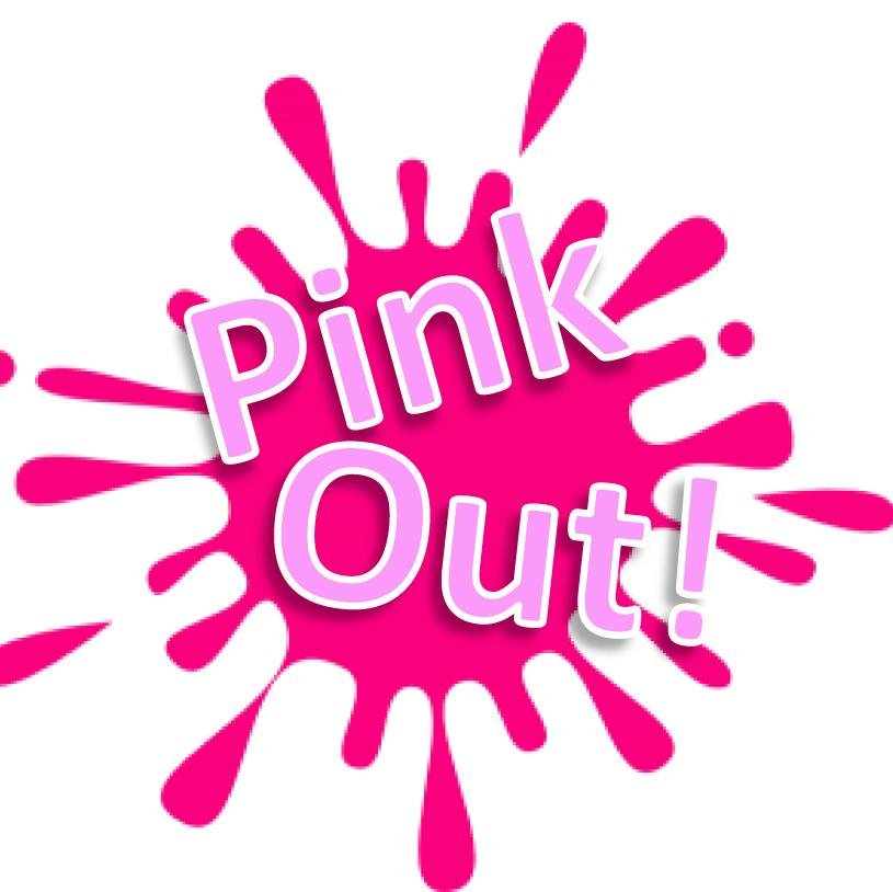 Pink out splash