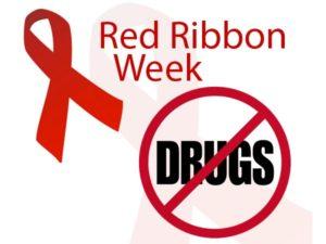 Red Ribbon Week - No Drugs