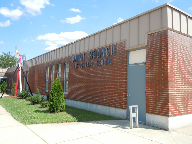 Paint Branch Entrance - google