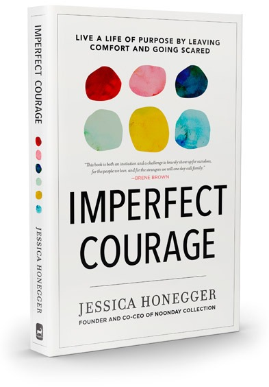 Imperfect Courage Book - Jessica Honegger