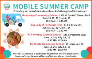 Mobile Summer Camp @ Varies