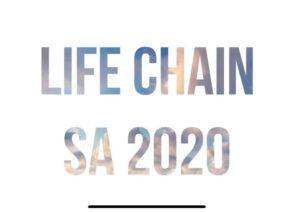 Life Chain 2020 @ San Pedro Avenue Grassy Knoll