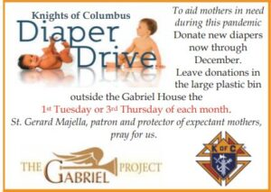 Diaper Drive @ Gabriel House (trailer)