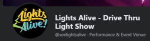 Lights Alive - Drive Thru Light Show @ Across Roft Road from the Church