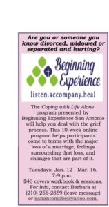 Coping with Life Alone program @ Online