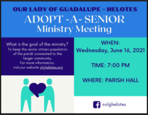 Adopt-a-Senior Ministry @ Our Lady of Guadalupe Catholic Church