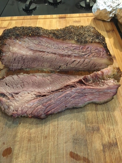 What's for dinner? Brisket!