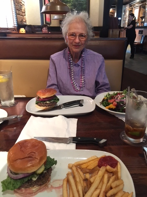 Lunch at Longhorns