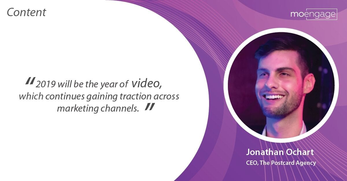 moengage video marketing prediction