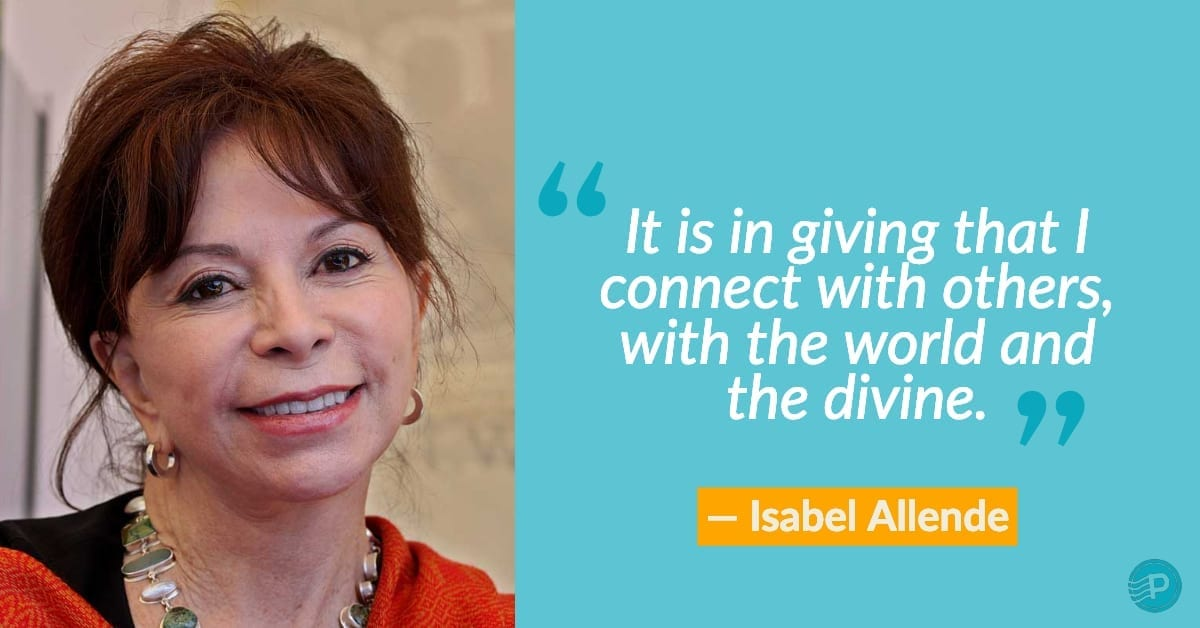 isabel allende women writer quote