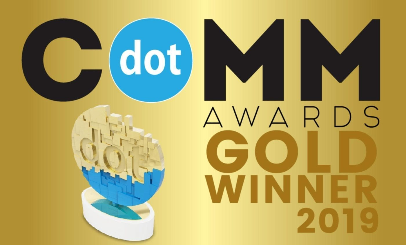 the postcard agency wins dotcomm award for website redesign project