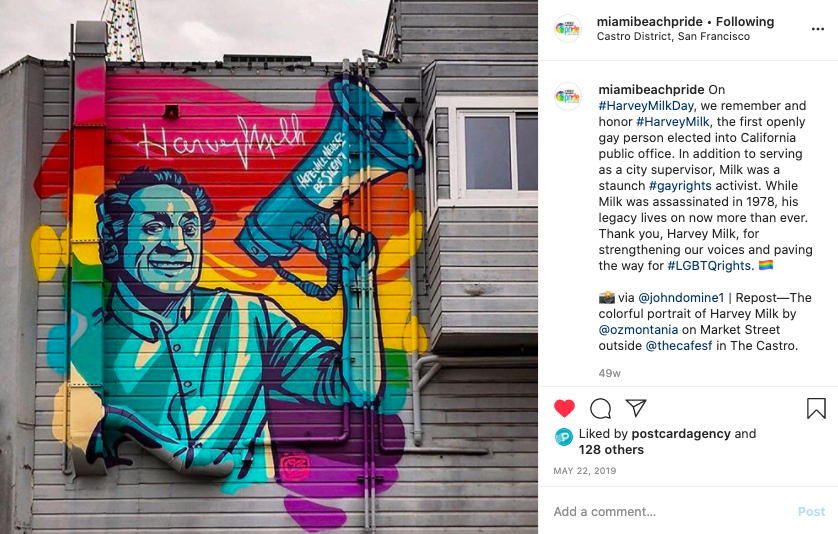 harvey milk social media pride marketing campaign