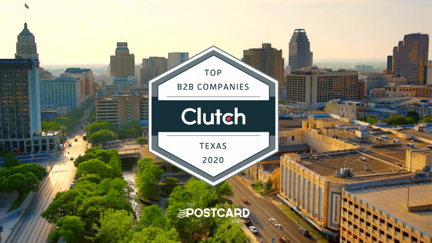 top texas b2b company the postcard agency