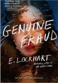 Book cover for Genuine Fraud by E. Lockhart