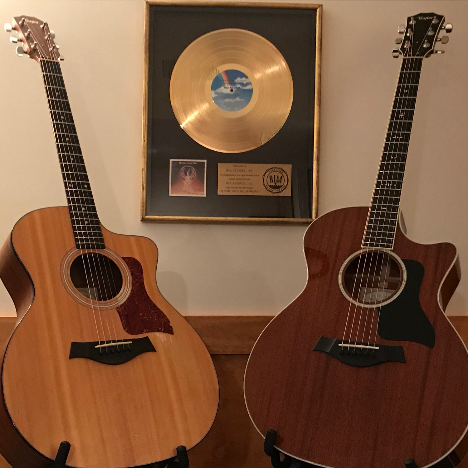 Taylor 114CE and 524CE Acoustic-Electric Guitars