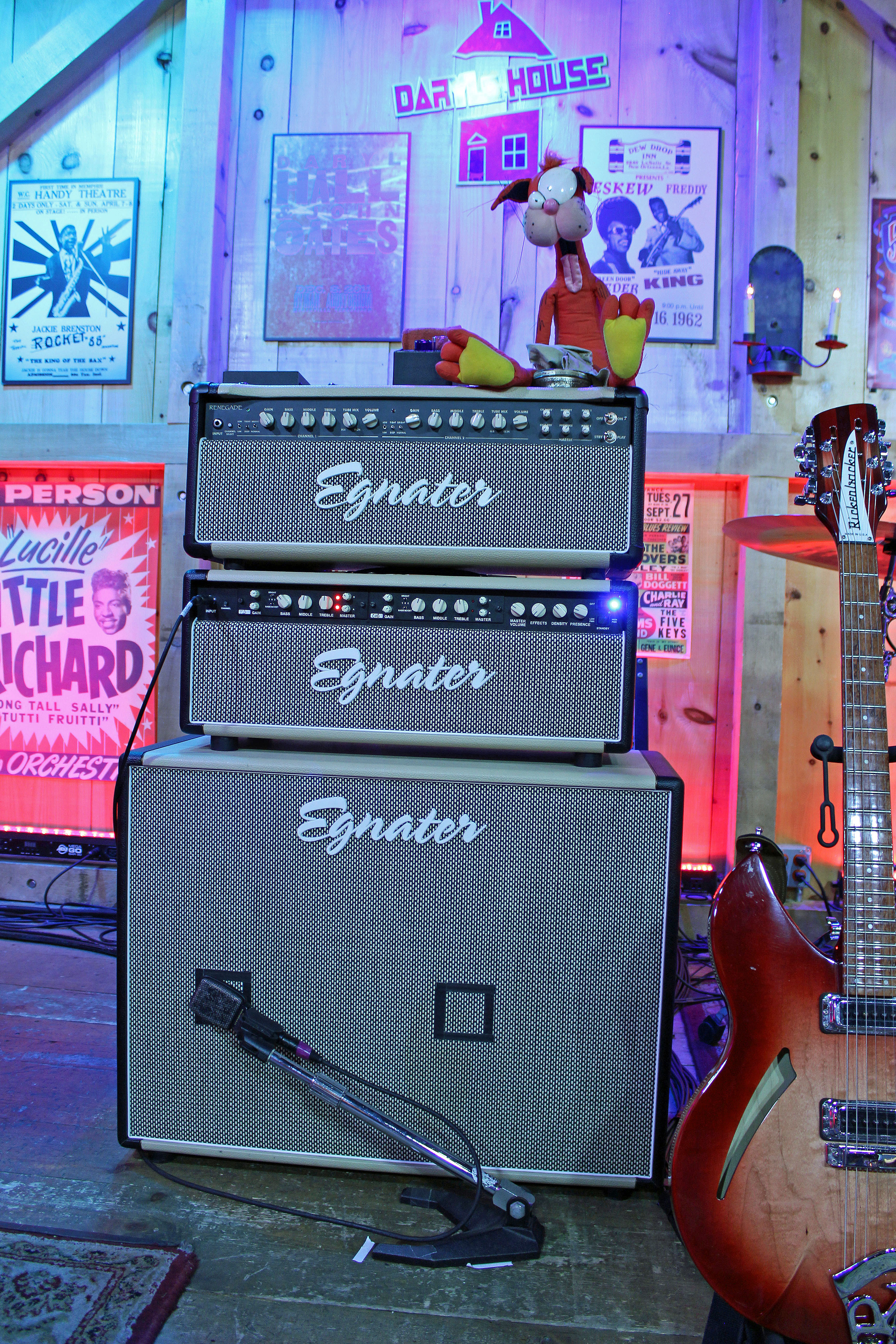 Egnater Mod 50 Guitar Amp at Daryle's House